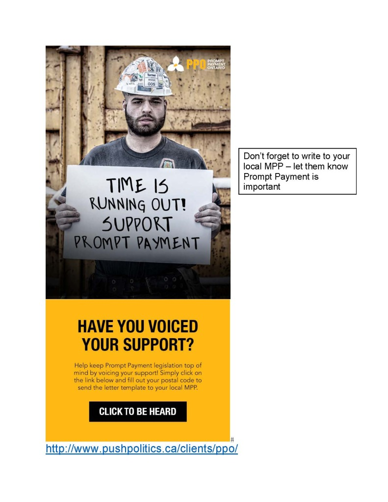 Prompt Payment Letter Campaign
